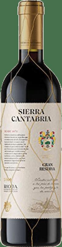 21,95 € Free Shipping | Red wine Sierra Cantabria Gran Reserva D.O.Ca. Rioja The Rioja Spain Tempranillo, Graciano Bottle 75 cl