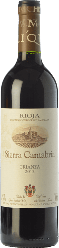 17,95 € | Red wine Sierra Cantabria Crianza D.O.Ca. Rioja The Rioja Spain Tempranillo, Grenache, Graciano Magnum Bottle 1,5 L