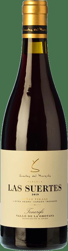 39,95 € Free Shipping | Red wine Soagranorte Suertes del Marqués El Ciruelo Crianza D.O. Valle de la Orotava Canary Islands Spain Listán Black, Listán White Bottle 75 cl