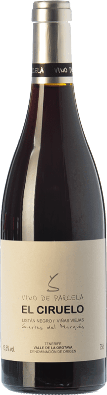 39,95 € 免费送货 | 红酒 Soagranorte Suertes del Marqués El Ciruelo Crianza D.O. Valle de la Orotava 加那利群岛 西班牙 Listán Black, Listán White 瓶子 75 cl
