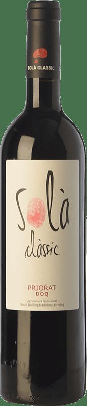 14,95 € Free Shipping | Red wine Solà Classic 1777 D.O.Ca. Priorat Catalonia Spain Grenache, Samsó Bottle 75 cl