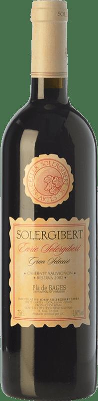 16,95 € Envoi gratuit | Vin rouge Solergibert Enric Gran Reserva D.O. Pla de Bages Catalogne Espagne Cabernet Sauvignon, Cabernet Franc Bouteille 75 cl