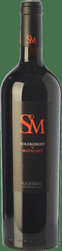 19,95 € | Red wine Solergibert Matacans Joven D.O. Pla de Bages Catalonia Spain Cabernet Sauvignon, Cabernet Franc Bottle 75 cl