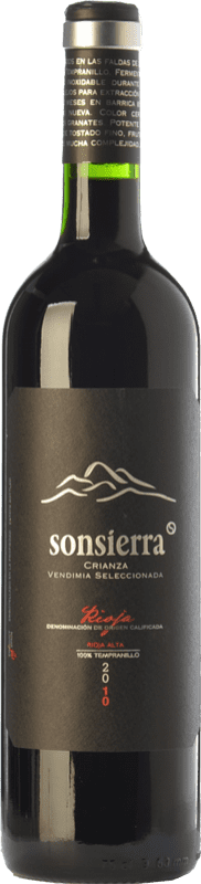 7,95 € | Red wine Sonsierra Vendimia Seleccionada Crianza D.O.Ca. Rioja The Rioja Spain Tempranillo Bottle 75 cl