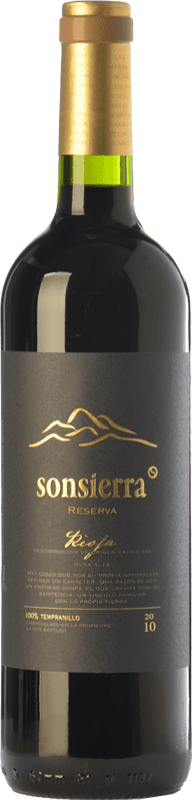 13,95 € | Red wine Sonsierra Reserva D.O.Ca. Rioja The Rioja Spain Tempranillo Bottle 75 cl