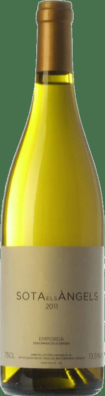 33,95 € | White wine Sota els Àngels Crianza D.O. Empordà Catalonia Spain Viognier, Picapoll Bottle 75 cl