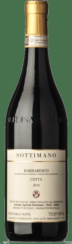 89,95 € Envío gratis | Vino tinto Sottimano Cottà D.O.C.G. Barbaresco Piemonte Italia Nebbiolo Botella 75 cl