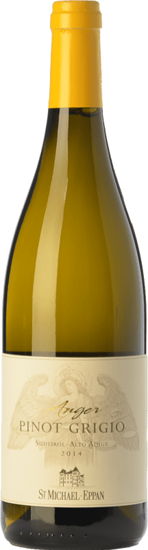 15,95 € | White wine St. Michael-Eppan Pinot Grigio Anger D.O.C. Alto Adige Trentino-Alto Adige Italy Pinot Grey Bottle 75 cl