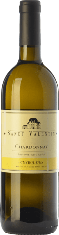 29,95 € 免费送货   白酒 St. Michael-Eppan Sanct Valentin D.O.C. Alto Adige 特伦蒂诺 - 上阿迪杰 意大利 Chardonnay 瓶子 75 cl