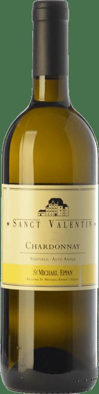 29,95 € Envío gratis | Vino blanco St. Michael-Eppan Sanct Valentin D.O.C. Alto Adige Trentino-Alto Adige Italia Chardonnay Botella 75 cl