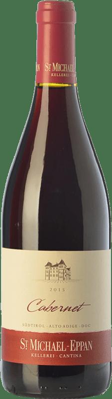 11,95 € | Red wine St. Michael-Eppan Cabernet D.O.C. Alto Adige Trentino-Alto Adige Italy Cabernet Sauvignon, Cabernet Franc Bottle 75 cl