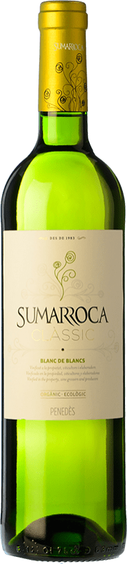 6,95 € Envoi gratuit | Vin blanc Sumarroca Blanc de Blancs Joven D.O. Penedès Catalogne Espagne Macabeo, Xarel·lo, Parellada Bouteille 75 cl