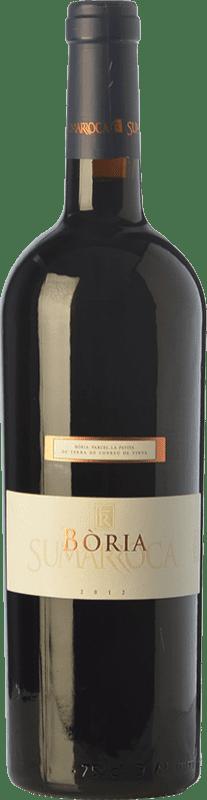 29,95 € Envío gratis | Vino tinto Sumarroca Bòria Crianza D.O. Penedès Cataluña España Merlot, Syrah, Cabernet Sauvignon Botella 75 cl
