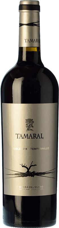 9,95 € | Red wine Tamaral Roble D.O. Ribera del Duero Castilla y León Spain Tempranillo Bottle 75 cl