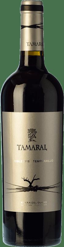 11,95 € Envío gratis | Vino tinto Tamaral Roble D.O. Ribera del Duero Castilla y León España Tempranillo Botella 75 cl