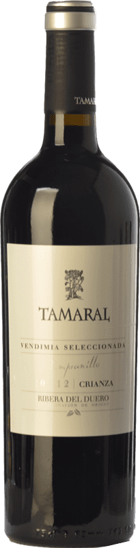 19,95 € | Red wine Tamaral Vendimia Seleccionada Crianza D.O. Ribera del Duero Castilla y León Spain Tempranillo Bottle 75 cl