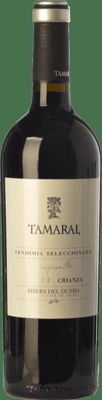 19,95 € Envío gratis | Vino tinto Tamaral Vendimia Seleccionada Crianza D.O. Ribera del Duero Castilla y León España Tempranillo Botella 75 cl