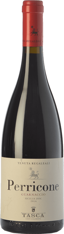 11,95 € Free Shipping | Red wine Tasca d'Almerita Guarnaccio I.G.T. Terre Siciliane Sicily Italy Perricone Bottle 75 cl