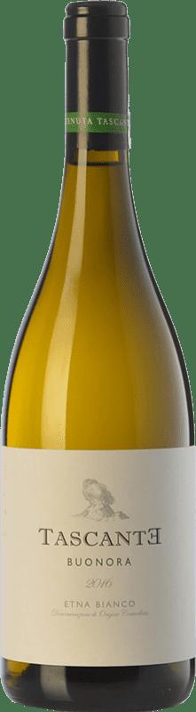 18,95 € 免费送货 | 白酒 Tasca d'Almerita Tascante Buonora I.G.T. Terre Siciliane 西西里岛 意大利 Carricante 瓶子 75 cl