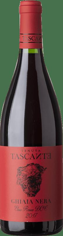 19,95 € 免费送货 | 红酒 Tasca d'Almerita Tascante Ghiaia Nera I.G.T. Terre Siciliane 西西里岛 意大利 Nerello Mascalese 瓶子 75 cl