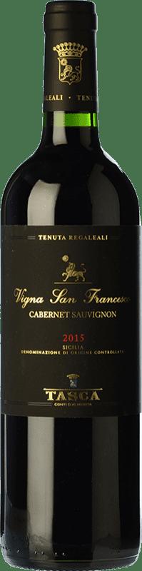 47,95 € 免费送货 | 红酒 Tasca d'Almerita I.G.T. Terre Siciliane 西西里岛 意大利 Cabernet Sauvignon 瓶子 75 cl