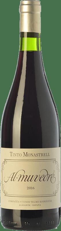 6,95 € Envío gratis | Vino tinto Telmo Rodríguez Al Muvedre Joven D.O. Alicante Comunidad Valenciana España Monastrell Botella 75 cl
