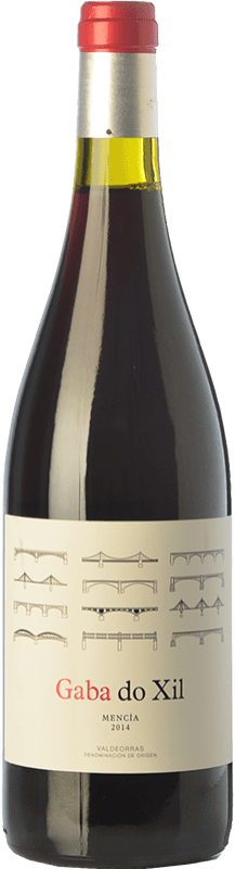 9,95 € Free Shipping | Red wine Telmo Rodríguez Gaba Do Xil Joven D.O. Valdeorras Galicia Spain Mencía Bottle 75 cl