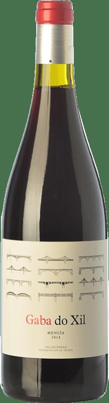 9,95 € Envío gratis | Vino tinto Telmo Rodríguez Gaba Do Xil Joven D.O. Valdeorras Galicia España Mencía Botella 75 cl