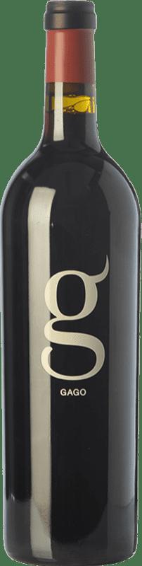 17,95 € Envío gratis | Vino tinto Telmo Rodríguez Gago Crianza D.O. Toro Castilla y León España Tinta de Toro Botella 75 cl