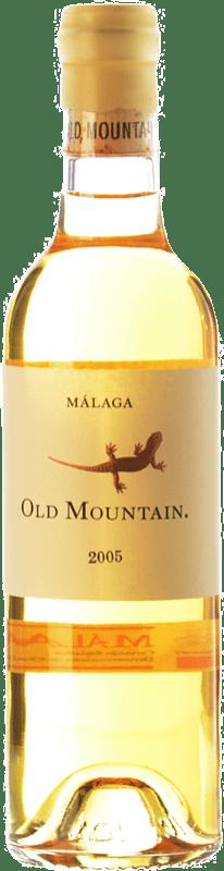 127,95 € Free Shipping | White wine Telmo Rodríguez Old Mountain Crianza 2005 D.O. Sierras de Málaga Andalusia Spain Muscat of Alexandria Bottle 75 cl