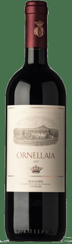 249,95 € Envío gratis | Vino tinto Ornellaia D.O.C. Bolgheri Toscana Italia Merlot, Cabernet Sauvignon, Cabernet Franc, Petit Verdot Botella 75 cl