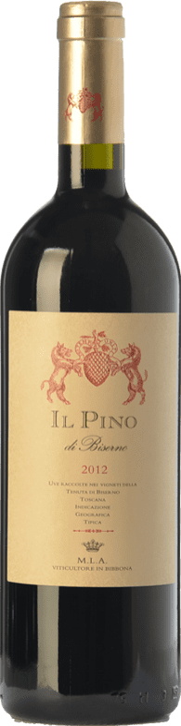 55,95 € Free Shipping | Red wine Tenuta di Biserno Il Pino I.G.T. Toscana Tuscany Italy Merlot, Cabernet Sauvignon, Cabernet Franc, Petit Verdot Bottle 75 cl