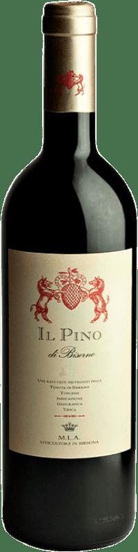 55,95 € 免费送货 | 红酒 Tenuta di Biserno Il Pino I.G.T. Toscana 托斯卡纳 意大利 Merlot, Cabernet Sauvignon, Cabernet Franc, Petit Verdot 瓶子 75 cl