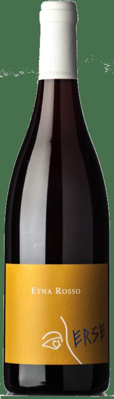 17,95 € Free Shipping | Red wine Tenuta di Fessina Erse Rosso D.O.C. Etna Sicily Italy Nerello Mascalese, Nerello Cappuccio Bottle 75 cl
