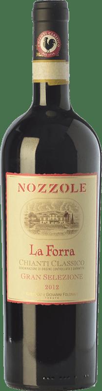 24,95 € | Red wine Tenuta di Nozzole La Forra Riserva Reserva D.O.C.G. Chianti Classico Tuscany Italy Sangiovese Bottle 75 cl