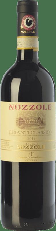 17,95 € | Red wine Tenuta di Nozzole D.O.C.G. Chianti Classico Tuscany Italy Sangiovese Bottle 75 cl