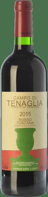 81,95 € Free Shipping | Red wine Tenuta di Trinoro Campo di Tenaglia I.G.T. Toscana Tuscany Italy Cabernet Franc Bottle 75 cl