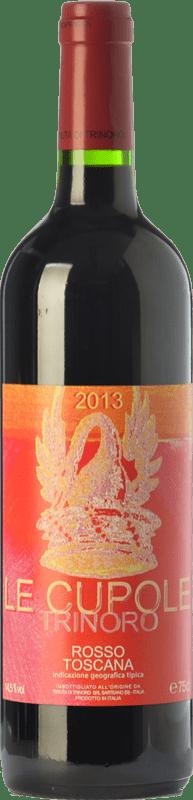 25,95 € Free Shipping | Red wine Tenuta di Trinoro Le Cupole I.G.T. Toscana Tuscany Italy Merlot, Cabernet Sauvignon, Cabernet Franc, Petit Verdot Bottle 75 cl