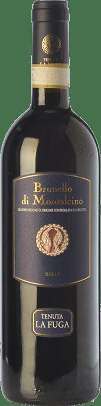 44,95 € Envío gratis | Vino tinto Tenuta La Fuga D.O.C.G. Brunello di Montalcino Toscana Italia Sangiovese Botella 75 cl