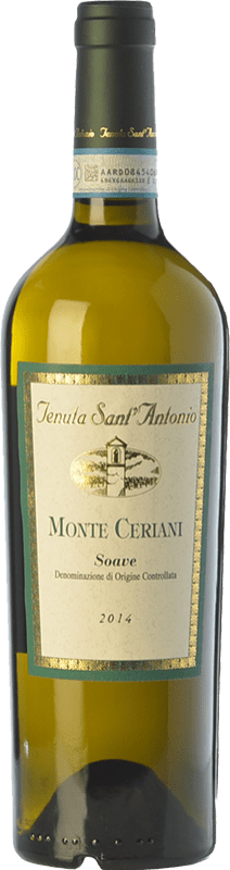 13,95 € Free Shipping | White wine Tenuta Sant'Antonio Monte Ceriani D.O.C. Soave Veneto Italy Garganega Bottle 75 cl