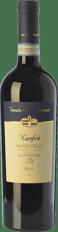 9,95 € Free Shipping | Red wine Tenuta Sant'Antonio Superiore Nanfrè D.O.C. Valpolicella Veneto Italy Corvina, Rondinella Bottle 75 cl