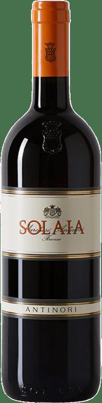 279,95 € Free Shipping | Red wine Antinori Tignanello Marchesi Antinori Solaia I.G.T. Toscana Tuscany Italy Cabernet Sauvignon, Sangiovese, Cabernet Franc Bottle 75 cl
