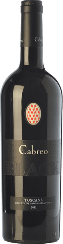 33,95 € | Red wine Cabreo Black I.G.T. Toscana Tuscany Italy Pinot Black Bottle 75 cl