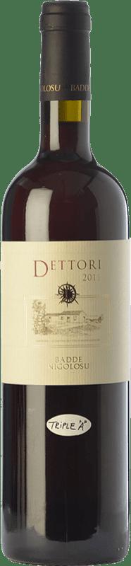 56,95 € 免费送货   红酒 Dettori Rosso I.G.T. Romangia 撒丁岛 意大利 Cannonau 瓶子 75 cl