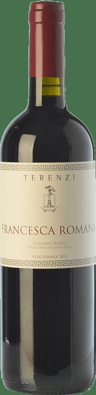 19,95 € | Red wine Terenzi Francesca Romana D.O.C. Maremma Toscana Tuscany Italy Merlot, Cabernet Sauvignon, Petit Verdot Bottle 75 cl