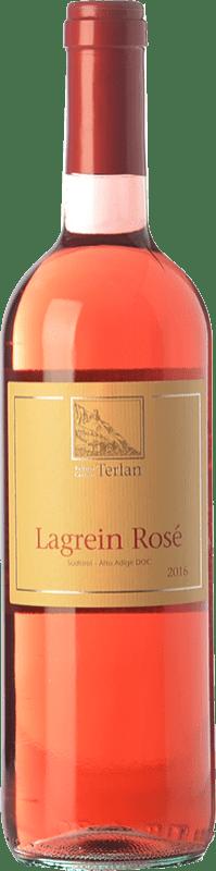 11,95 € | Rosé wine Terlano Rosé D.O.C. Alto Adige Trentino-Alto Adige Italy Lagrein Bottle 75 cl