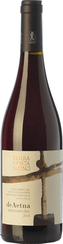 18,95 € | Red wine Terra Costantino Rosso D.O.C. Etna Sicily Italy Nerello Mascalese Bottle 75 cl