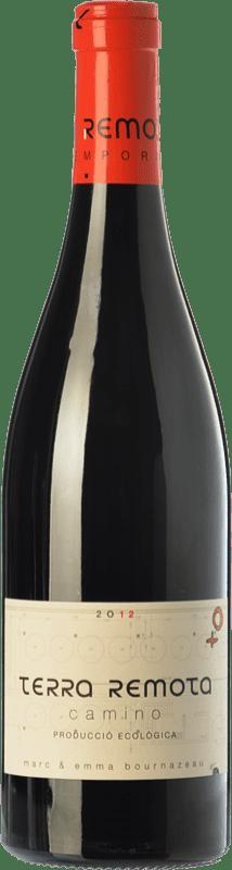 46,95 € Envío gratis | Vino tinto Terra Remota Camino Crianza D.O. Empordà Cataluña España Tempranillo, Syrah, Garnacha, Cabernet Sauvignon Botella Mágnum 1,5 L