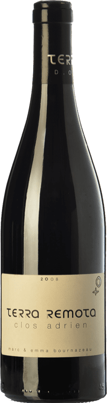 53,95 € Envío gratis | Vino tinto Terra Remota Clos Adrien Reserva D.O. Empordà Cataluña España Syrah, Garnacha Botella 75 cl