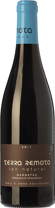 14,95 € Envío gratis | Vino tinto Terra Remota Tan Natural Joven D.O. Empordà Cataluña España Garnacha Botella 75 cl